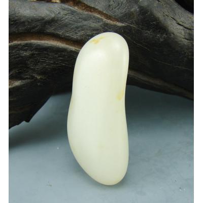 重28克新疆和田玉黄皮白玉籽玉
