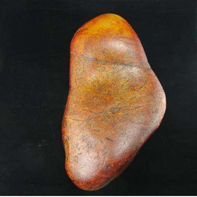 重6公斤新疆和田玉枣红皮白玉籽玉