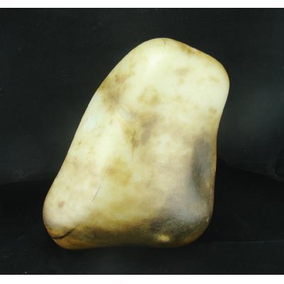重3880克新疆和田玉褐皮白玉籽玉