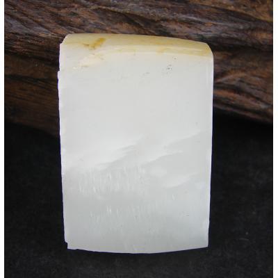 重47克新疆和田玉洒金皮白玉 籽料