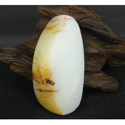 重157克 新疆和田玉黄皮白玉 籽料