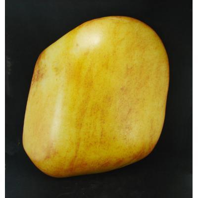重17公斤新疆和田玉枣红皮白玉籽玉原石