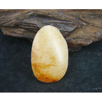 重30克 新疆和田玉秋梨皮白玉 籽料