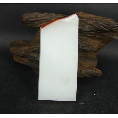 新疆和田玉红皮一级白玉 籽料  170克