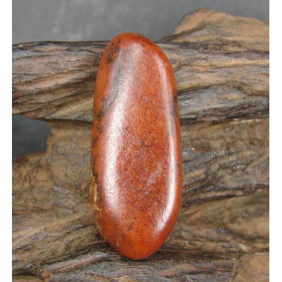 重28克新疆和田玉黄玉籽料 原石