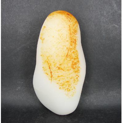 重317克 新疆和田玉黄皮一级白玉 籽玉