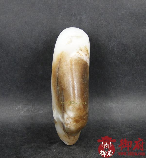 重329克 新疆和田玉褐皮白玉籽料(实价)