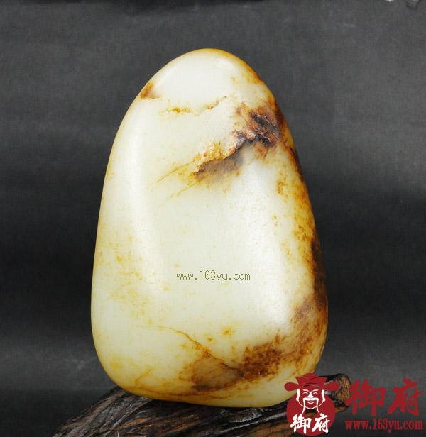 重337克 新疆和田玉褐皮白玉籽料(实价)