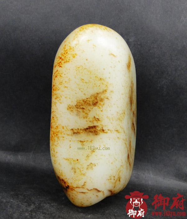 重704克 新疆和田玉黄皮白玉籽料(实价)