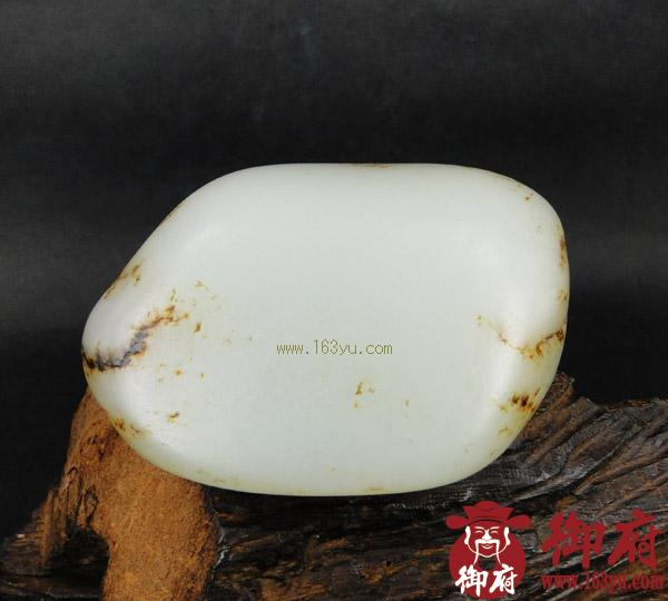重284克 新疆和田玉褐皮白玉籽料(实价)