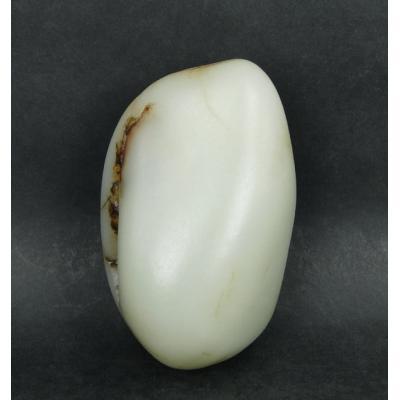 重410克 新疆和田玉枣红皮白玉籽料(实价)
