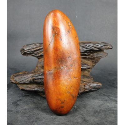 重247克 新疆和田玉黄玉籽玉 原石(实价)