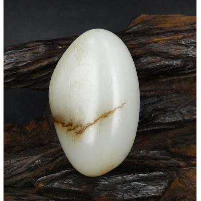 重53克 新疆和田玉褐皮白玉籽玉 原石(实价)