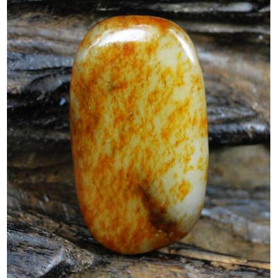 重22克 新疆和田玉褐皮白玉籽玉 原石(实价)