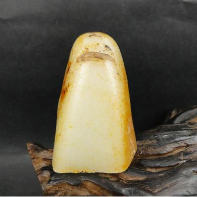 重120克 新疆和田玉黄皮一级白玉 籽玉(实价)