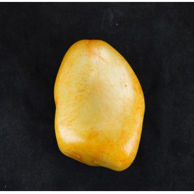重1360克 新疆和田玉洒金皮白玉籽玉 原石
