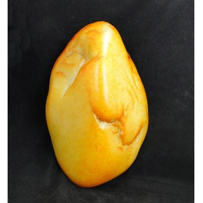 重5公斤 新疆和田玉洒金皮白玉籽玉 原石