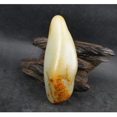重226克 新疆和田玉黄皮白玉籽玉 原石