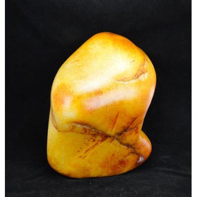 重9公斤 新疆和田玉洒金皮白玉籽玉 原石