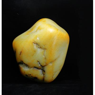 重5.2公斤 新疆和田玉黄皮白玉籽玉 原石