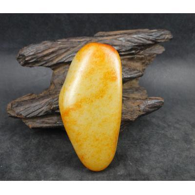 重131克 新疆和田玉黄皮白玉籽玉 原石
