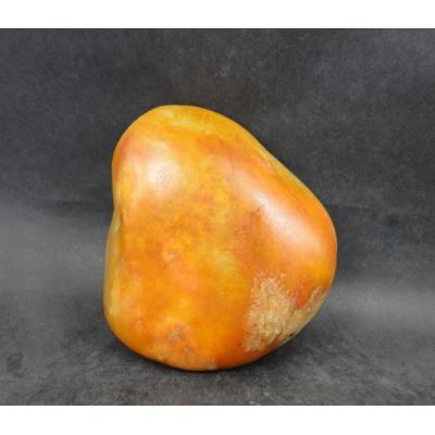 重1242克 新疆和田玉枣红皮白玉籽玉 原石
