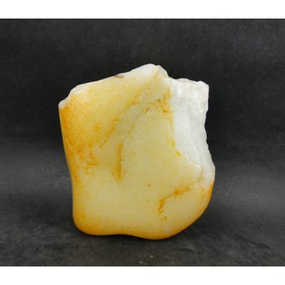 重868克 新疆和田玉黄皮白玉籽玉 原石