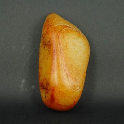 重697克 新疆和田玉洒金皮白玉籽玉 原石