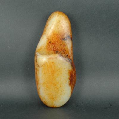 重561克 新疆和田玉秋梨皮白玉籽玉 原石