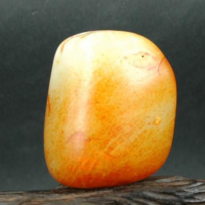 重154克 新疆和田玉红皮白玉籽玉 原石