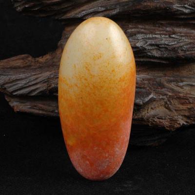 重95克 新疆和田玉红皮白玉籽玉 原石