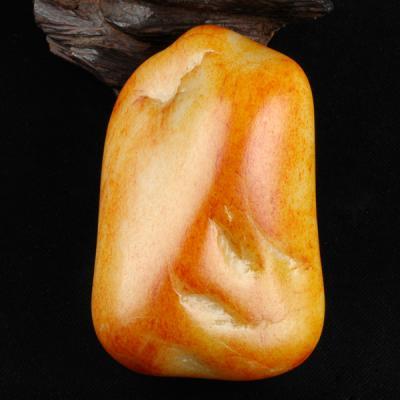 重2265克 新疆和田玉枣红皮白玉籽玉 原石