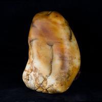 新疆和田玉秋梨皮白玉籽玉 原石 10公斤