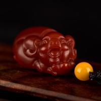 南红玛瑙挂件 福猪 5.7克