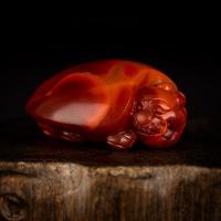 南红玛瑙挂件 龙龟 13.2克
