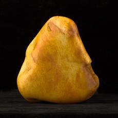 新疆和田玉黄皮白玉籽玉原石 1.8公斤