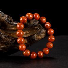南红玛瑙手串(16颗) 46.5克
