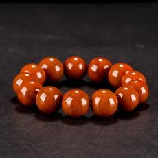 南红玛瑙手串(13颗) 110.3克