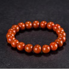 南红玛瑙手链(20颗) 29.1克