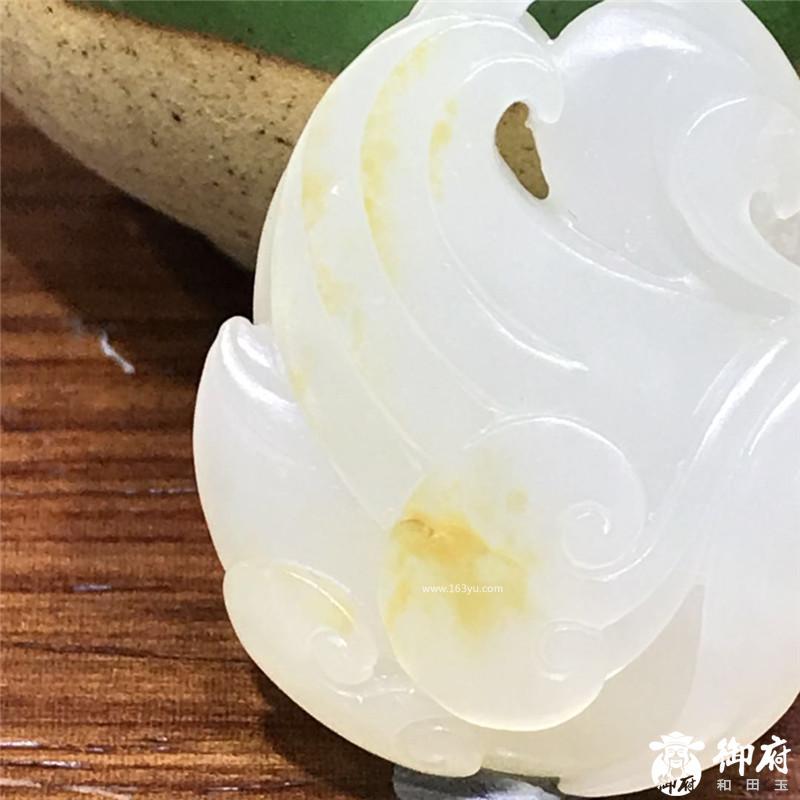 新疆和田白玉籽玉挂件 玉鹅 12.5克