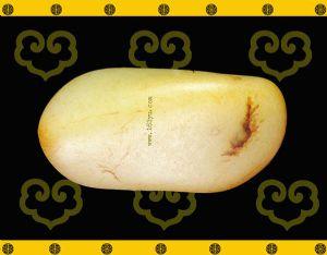 重275克新疆和田玉黄皮一级白玉籽玉