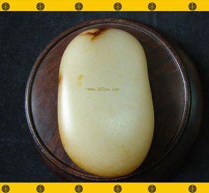 重189克 新疆和田鹿皮白玉籽料