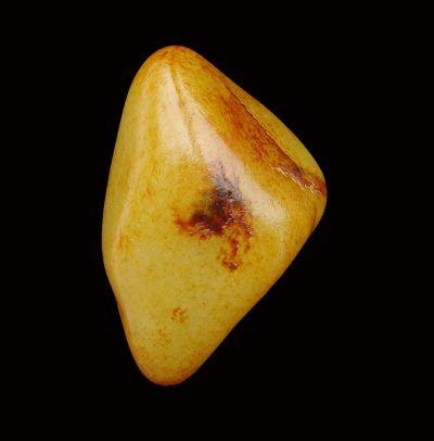 重137克新疆和田玉枣红皮籽玉