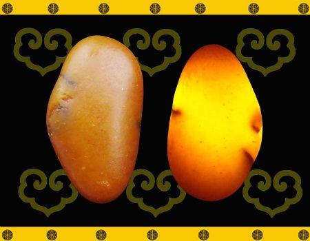 重14克 新疆和田玉黄玉籽料