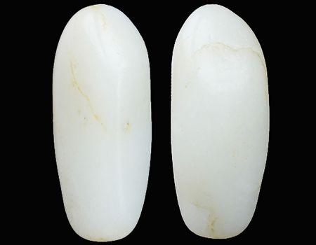 重44克新疆和田玉黄皮白玉籽玉