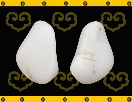 重16克新疆和田玉羊脂白玉籽玉