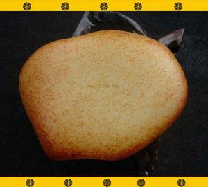 重325克新疆和田玉撒金枣皮白玉籽料