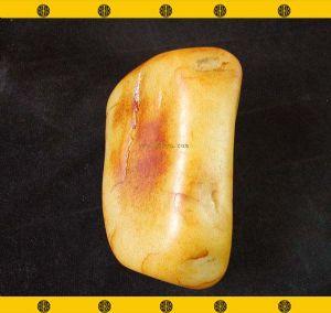 重3446克新疆和田玉撒金皮白玉籽料